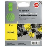 Картридж струйный Cactus CS-CLI426Y желтый для Canon Pixma MG5140/5240/6140/8140/MX884 (8.2мл)