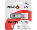 Флешка FUMIKO PARIS 4GB Silver USB 2.0