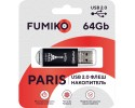 Флешка FUMIKO PARIS 64GB Black USB 2.0