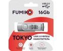 Флешка FUMIKO TOKYO 16GB Silver USB 2.0