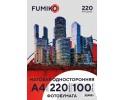 Фотобумага FUMIKO матовая односторонняя 220г/А4/100л